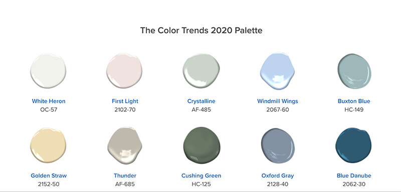 paint colours for home staging
